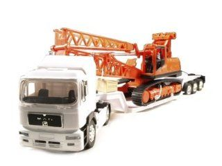 132 Man 19.603 FLS Construction Truck Trailer Diecast Toys & Games