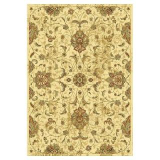 Kas Rugs Pleasant Mahal Ivory 5 ft. 3 in. x 7 ft. 7 in. Area Rug VER853853X77