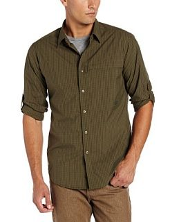 ExOfficio Men's Trip'r Check Long Sleeve Shirt  Athletic Shirts  Sports & Outdoors