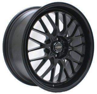 "Kyowa Racing 628 Evolve Flat Black Wheel with Painted Finish (18x9""/5x114.3mm or 5x120mm) Automotive"