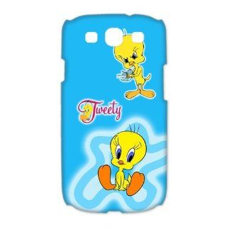 Tweety Bird SamSung Galaxy S3 I9300/I9308/I939 Faceplate Case Cover Snap On, 3D Cartoon & Anime Series SamSung One Piece Case Cover at casesspecial store Cell Phones & Accessories