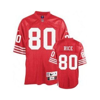 Jerry Rice San Francisco 49ers Throwback Jersey Size 48 (Medium)  Football Uniforms  Sports & Outdoors