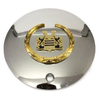 Vogue Mht Cadillac Wheels Center Cap Chrome Gold # 2160 Automotive