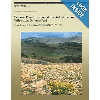 Vascular Plant Inventory of Selected Alpine Areas in Yellowstone National Park (Natural Resource Technical Report NPS/GRYN/NRTR?2012/651) Jennifer Whipple, Nina Chambers 9781492823001 Books
