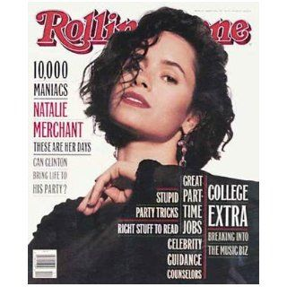 Rolling Stone Magazine # 652 March 18 1993 Natalie Merchant (Single Back Issue) Rolling Stone Books