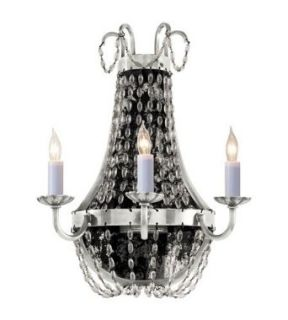 Visual Comfort and Company CHD1408PS SG E.F. Chapman Paris Flea Market 3 Light Wall Sconces in Polished Silver