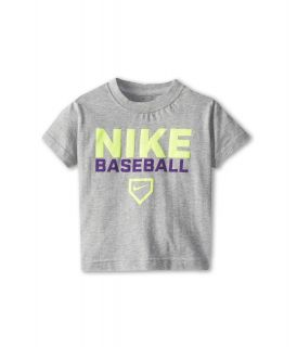 Nike Kids Baseball Tee Boys T Shirt (Gray)