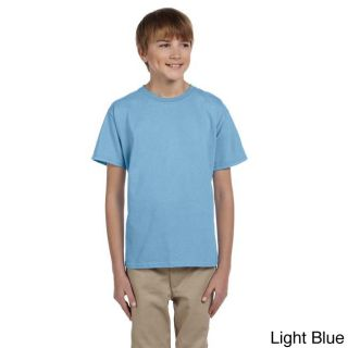 Fruit Of The Loom Fruit Of The Loom Youth Heavy Cotton Hd T shirt Blue Size L (14 16)