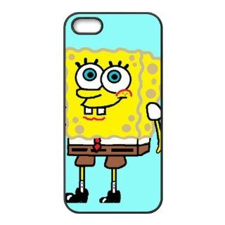 SpongeBob SquarePants Cartoon Accessories Apple Iphone 5/5s Waterproof TPU Back Cases Cell Phones & Accessories