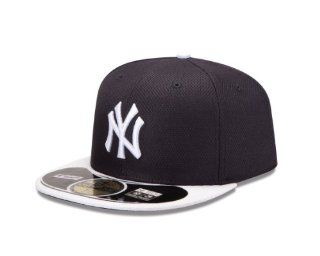 MLB New York Yankees Batting Practice 59Fifty Baseball Cap, Navy/White  Baseball And Softball Apparel  Sports & Outdoors