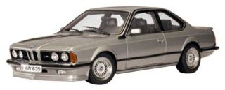 BMW M 635 CSI diecast model car 118 scale die cast by AUTOart   Silver Toys & Games