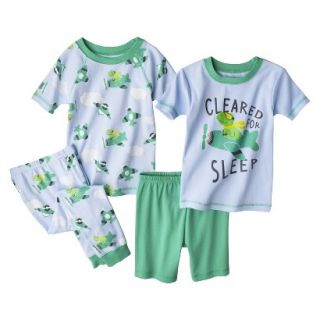 Just One You Made by Carters Infant Toddler Boys 4 Piece Short Sleeve Frog