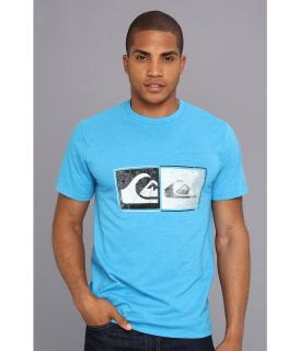 Quiksilver After Hours Tee Mens T Shirt (Blue)