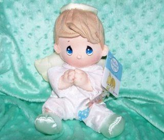 Precious Moments Prayer Doll   Boy Brown Hair Toys & Games