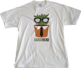 Ann Arbor T Shirt Co. Men's Gardenerd (Garden Nerd) T Shirt Clothing