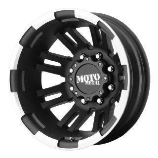 "Moto Metal  MO963 Dually Matte Black Wheel with Machined (17x6""/8x200mm) Automotive"