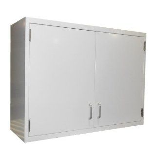 "LabDesign 7602 29 Steel Wall Cabinet with 2 Hinged Solid Doors, 29"" Width x 30"" Height x 13"" Depth Science Lab Cabinets"