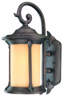 Thomas Lighting PL525623 Energy Star Rated Fleur De Lis Outdoor Wall Lantern, Colonial Bronze   Wall Porch Lights