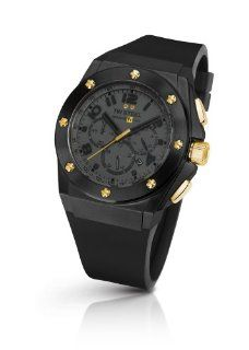 TW Steel Men's TW 682 CEO Tech Black Rubber Chronograph Dial Watch TW Steel Watches