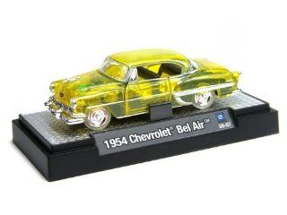 1954 Chevy Bel Air 1/64 Clearly Yellow Toys & Games