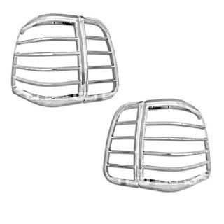 Razer Auto 2003 2006 Lincoln Navigator 4Pcs Chrome Tail Light Bezel Trim Cover Automotive