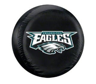 Philadelphia Eagles NFL Spare Tire Cover by Fremont Die (Black)  Sports Fan Tire And Wheel Covers  Sports & Outdoors