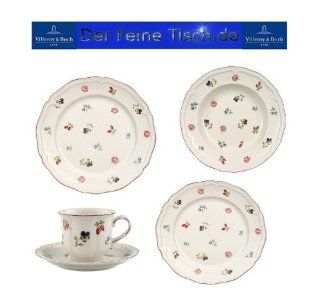 Villeroy and Boch Petite Fleur 20 Piece Basic Set   Dinnerware Sets