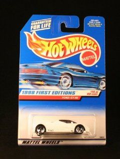 1998 First Editions  #14 Ford GT 90 #668 Condition Mattel Hot Wheels 164 Scale Toys & Games
