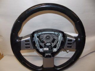 03 05 Nissan Murano SE SL model Black Leather Steering Wheel 2003 2004 2005 #92 Automotive