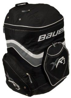 "Bauer XR3 Hockey Equipment Backpack Bag   Black/Red/White   25""  Sports & Outdoors"
