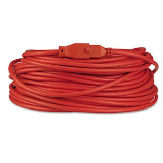 INNOVERA Indoor/Outdoor Heavy Duty Extension Cord, 100 Feet, Orange