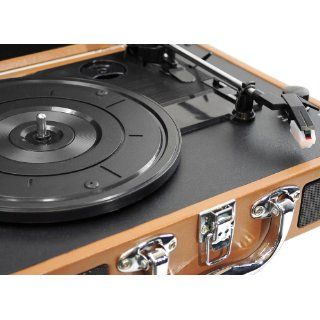PYLE HOME PVTT2UWD Retro Belt Drive Turntable with USB to PC Connection Electronics