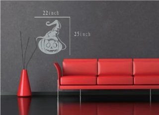 Large  Easy instant decoration wall sticker wall mural halloween home decal costumes bat howl angel black blood bone boo candy cat crown fall witch spider web prince pumpkin scarecrow ghost house RIP FL696   Nursery Wall Decor