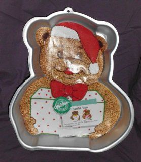 Wilton Santa Bear Cake Pan Novelty Cake Pans Kitchen & Dining