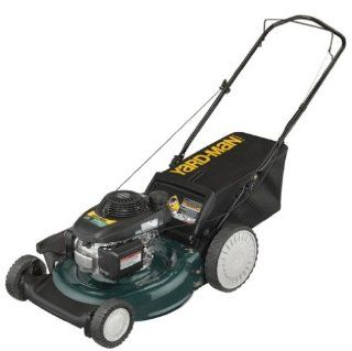 Yard Man 11A B29Q701 21 Inch 160cc Honda GCV Mulch/Side Discharge/Bagging Gas Powered Push Lawn Mower with High Rear Wheels (Discontinued by Manufacturer)  Walk Behind Lawn Mowers  Patio, Lawn & Garden