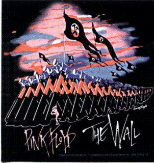 Pink Floyd   The Wall (Marching Hammers on Black)   Sticker / Decal Automotive