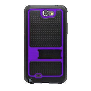 Katinkas 2108054546 Hard Cover for Samsung Note 2 Outdoor   1 Pack   Carrying Case   Retail Packaging   Black/Purple Cell Phones & Accessories