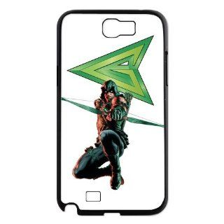 Designyourown Case Green Arrow Samsung Galaxy Note 2 Case Samsung Galaxy Note 2 N7100 Cover Case Fast Delivery SKUnote2 706 Cell Phones & Accessories