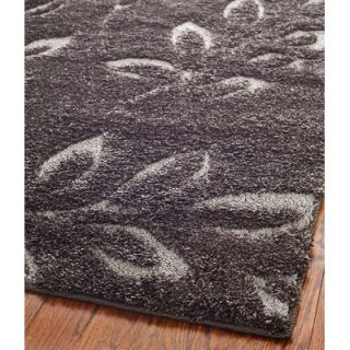 Safavieh Florida Shag Dark Brown/Gray Rug