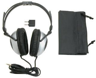 Sylvania SYL NC735 Noise Canceling Headphones (Black and Silver) (Discontinued by Manufacturer) Electronics