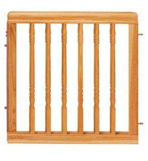 Evenflo Home D�cor Wood Gate, Natural Oak  Indoor Safety Gates  Baby