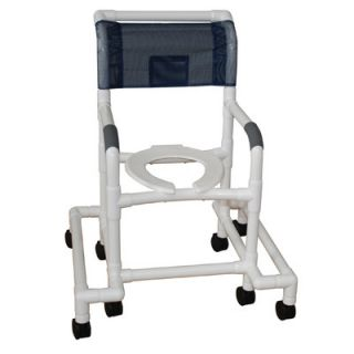MJM International Standard Deluxe Shower Chair with Anti Tip