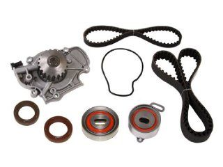 Evergreen TBK187WPT Honda F22A SOHC Timing Belt Kit w/ Water Pump Automotive