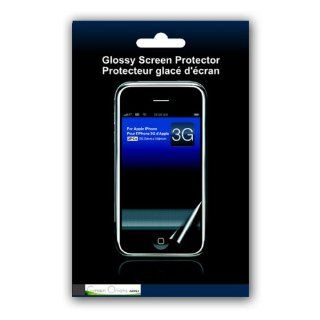Green Onions Supply Glossy Screen Protector for iPhone 3GS & 3G   2 Pieces per Pack Cell Phones & Accessories
