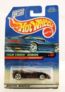 Hot Wheels   1998   Tech Tones Series   Silhouette II   Black & Purple   #2 of 4   Collector #746   Limited Edition   Collectible 164 Scale Toys & Games