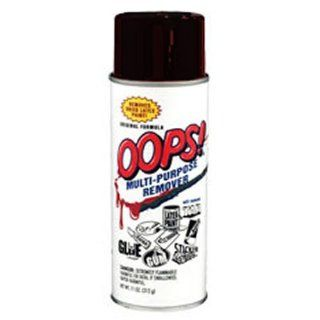 Homax Group 747 Oops Latex Paint Remover Aerosol Spray, 11 Ounce