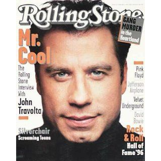 Rolling Stone Magazine, Issue 728, February 1996, John Travolta Cover Books