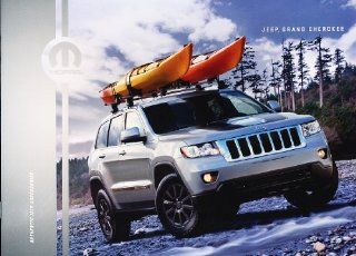 2012 2013 Jeep Grand Cherokee Mopar Dealer Accessories Sales Brochure Catalog