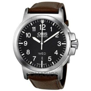 Oris BC 3 Black Dial Brown Leather Mens Watch 735 7641 4164LS at  Men's Watch store.