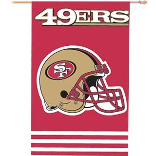NFL San Francisco 49ers Applique Banner Flag  Sports Fan Outdoor Flags  Sports & Outdoors
